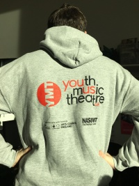 Sean runs the marathon. Youth Music Theatre UK YMT