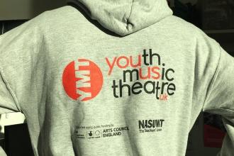 Sean runs the marathon. Youth Music Theatre UK YMT