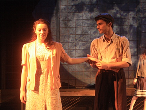 Lindsay Atherton and Joel Fisher - Korczak 2011 - Youth Music Theatre UK - YMT Alumni