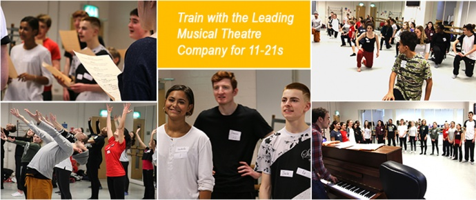Train with the leading musical theatre company for young people