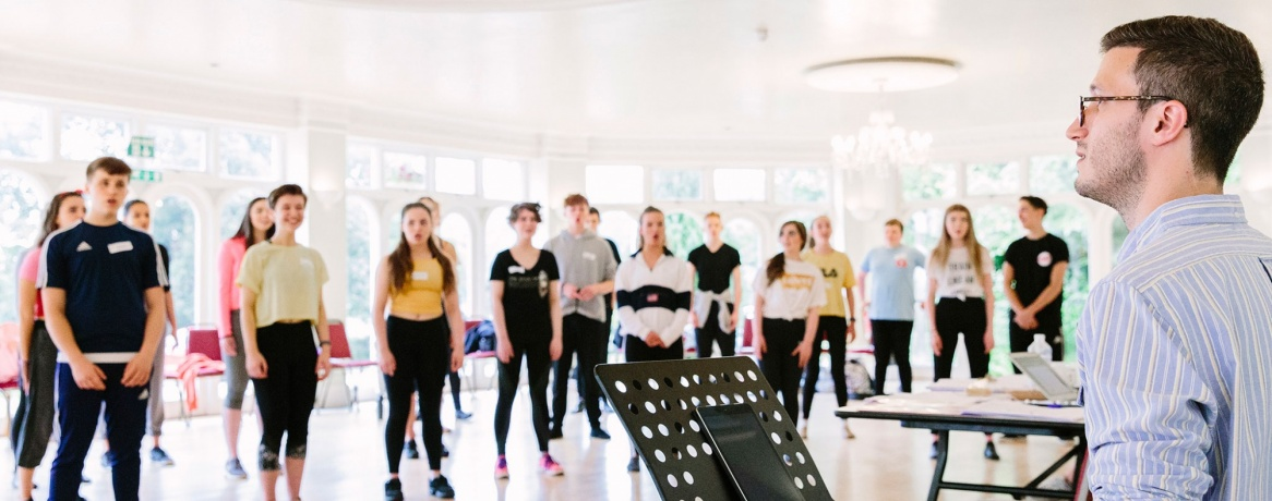 Outreach in Schools - British Youth Music Theatre