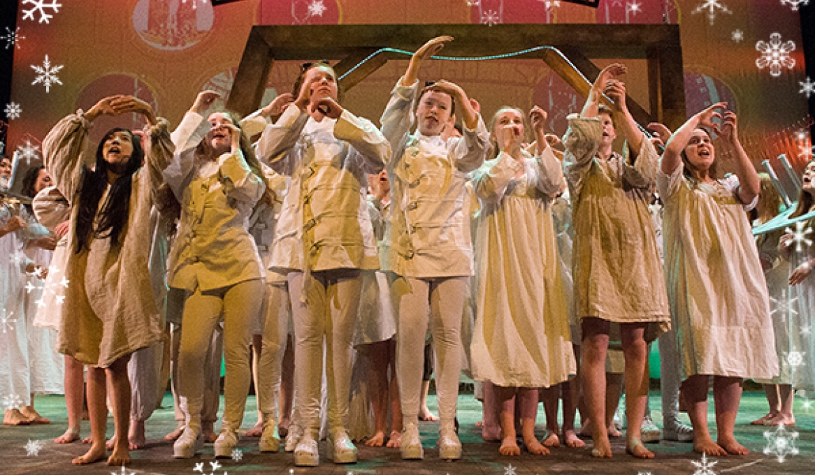 YMT Let it Snow! 2015 - Youth Music Theatre UK - Youth Theatre