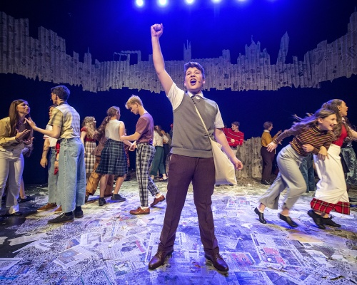 Paperboy - British Youth Music Theatre