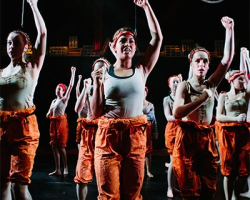 Fight Like a Girl - British Youth Music Theatre BYMT