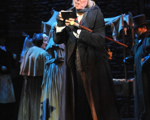 Scrooge the Musical Mayflower Southampton Tommy Steele